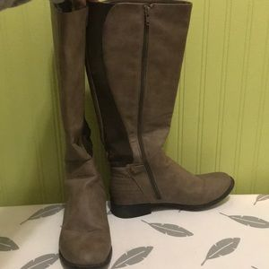 Tan Brown riding boots